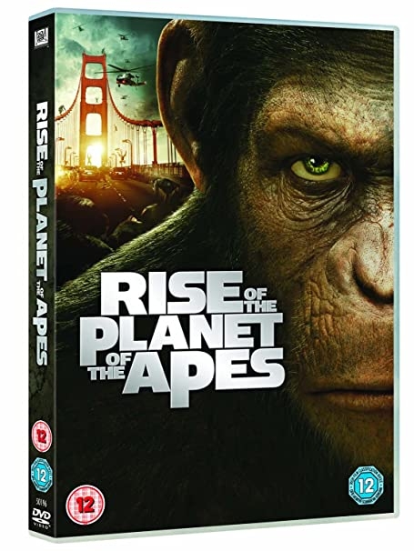 Amazon Com Rise Of The Planet Of The Apes Dvd 2011 James Franco Movies Tv