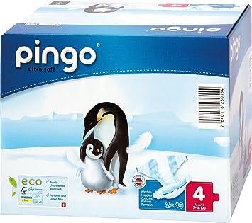 Pingo - Pañales desechables talla 4 (de 7 a 18 kg, 160 unidades): Amazon.es: Salud y cuidado personal