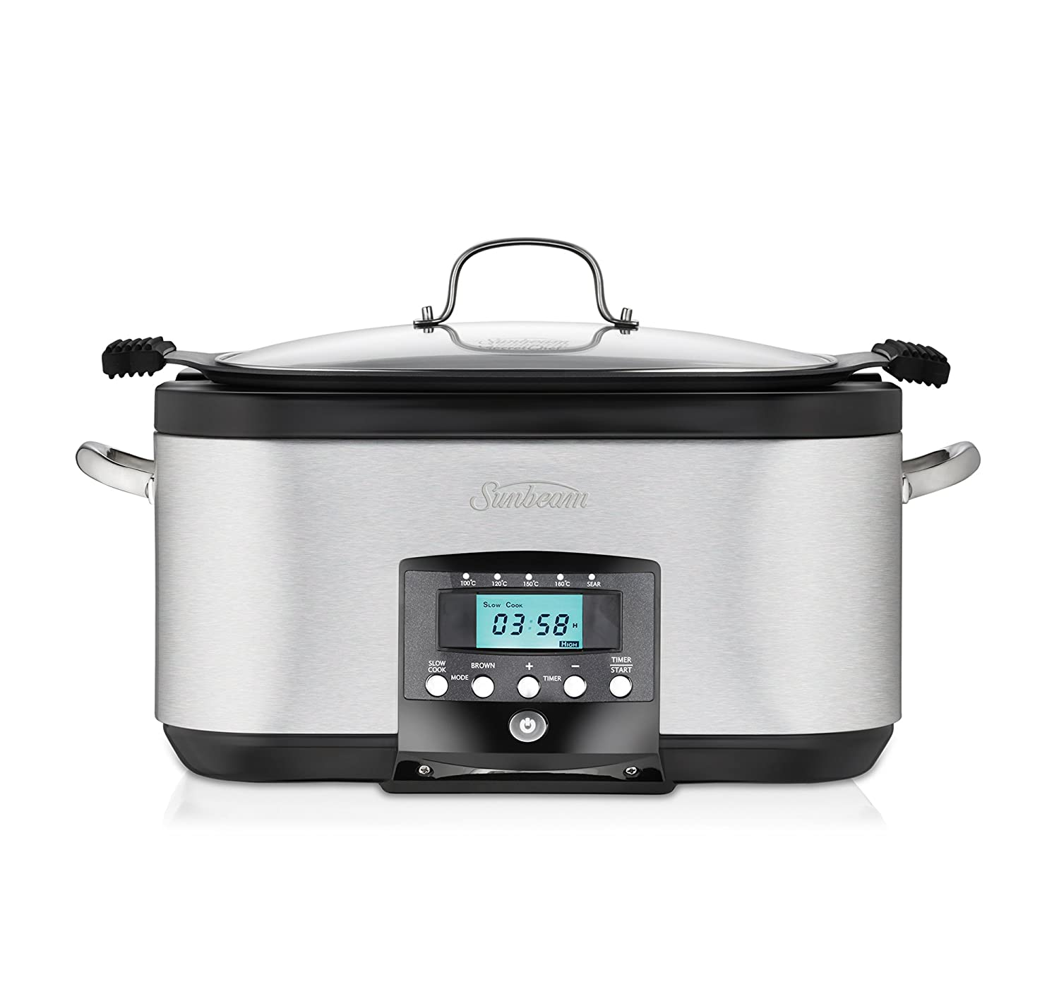Sunbeam 5.5L Secretchef Electronic Sear and Slow Cooker
