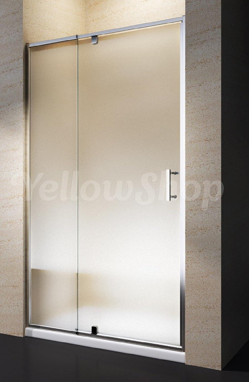 multicolore 100/cm 80 transparent ou granit/é dimensions 68 78 88 Yellowshop/-/Porte de douche pour douche en niche avec battant r/éversible en verre tremp/é de 6/mm 90