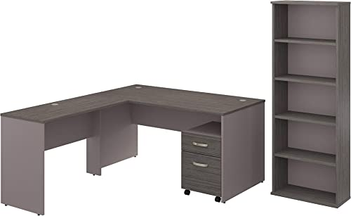 Bush Furniture Commerce 60W L Shaped Desk