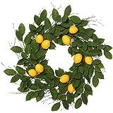 Vickerman FK170702 Everyday Lemon Wreath