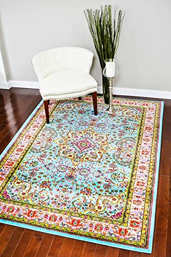 10015 Blue 2 0x3 4 Area Rug Carpet Large New