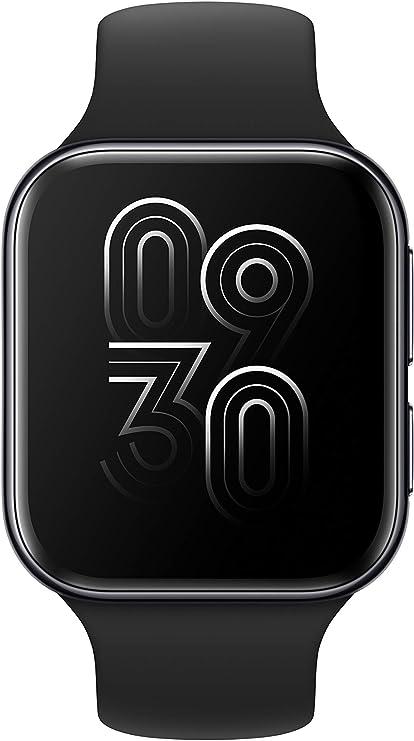 """OPPO - Smartwatch da 41 mm, Schermo AMOLED 1.6"""", GPS, NFC, Bluetooth 4.2, 1GB+8GB, WiFi, Wear OS by Google, Funzione di Ricarica Rapida VOOC, Versione Italia, Colore Black"""