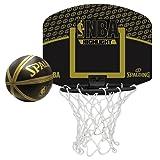 SPALDING(スポルディング) ミニゴール&ミニボールセット MICRO MINI NBA HIGHLIGHT 77-587Z