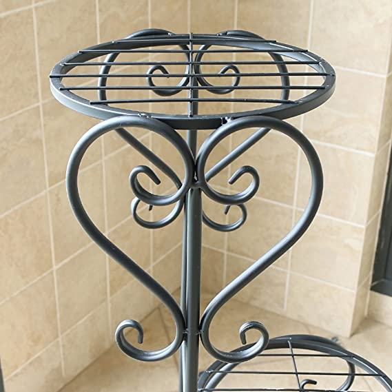 Amazon.com: Pergolas/Flower Racks Iron Flower Stand Indoor/Outdoor Flower Stand Floor-Standing Flower Stand Modern and Simple Flower Stand Flower Pot Shelf ...