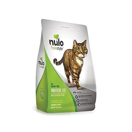 Nulo Grano Libre seco Bolsa de Comida para Gatos con Bolsa de BC30 (Interior,
