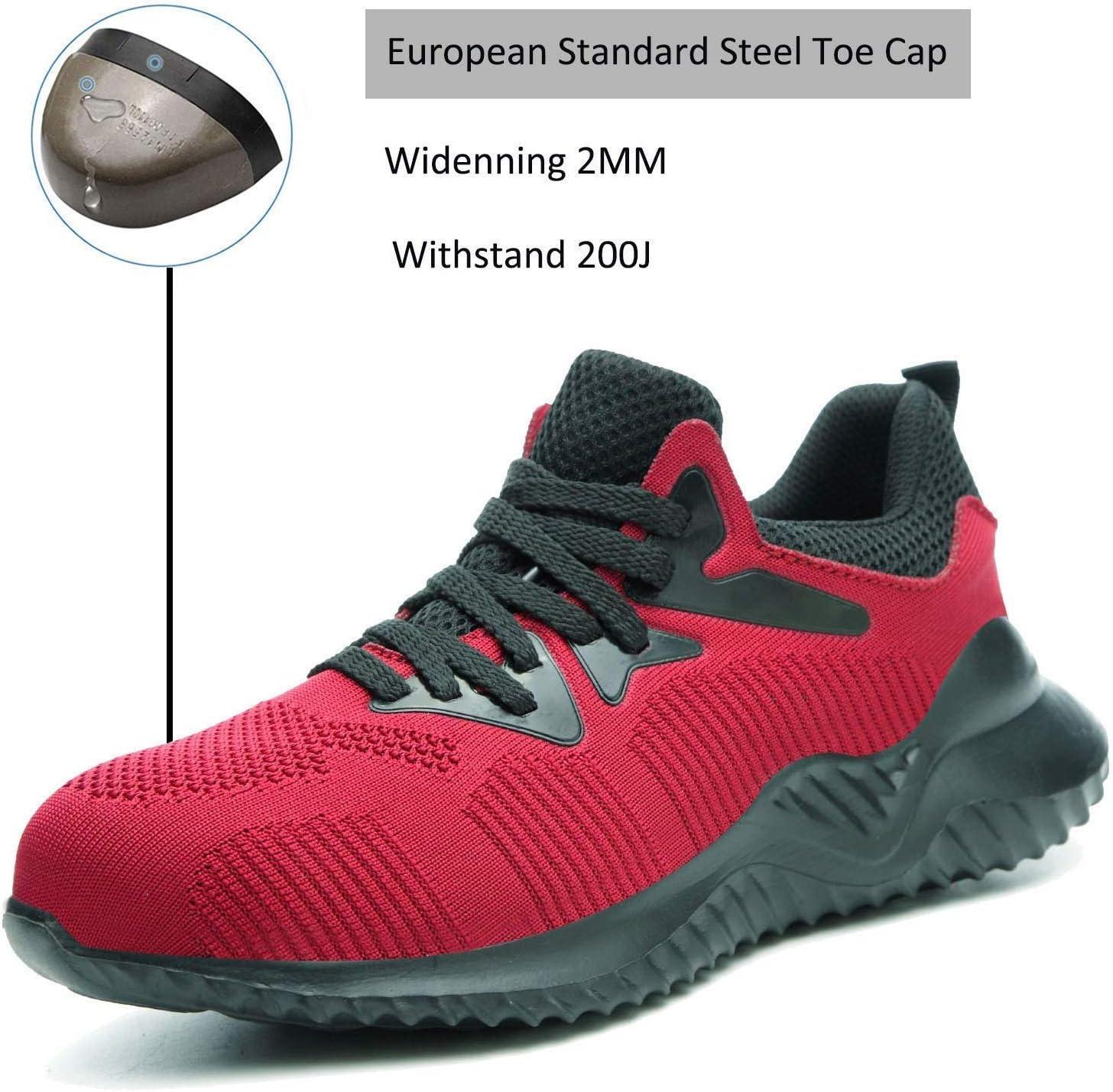 Amazon.com: JIEFU Steel Toe Shoes for