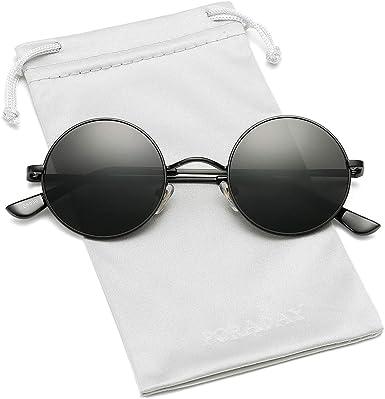 Small Round Circle Lens Sunglasses John Lennon Style UV400