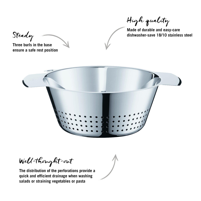 Amazon.com: Rösle Stainless Steel 10-inch Colander: Kitchen & Dining