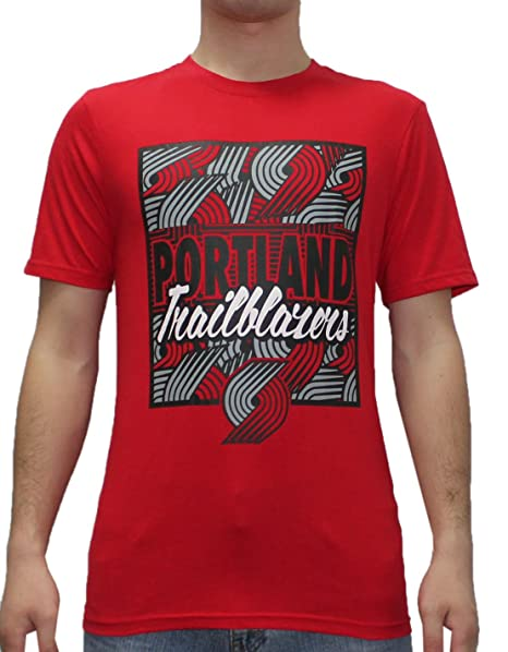 Amazon.com  NBA Mens Portland Trail Blazers  Athletic Short Sleeve T ... 98378607a
