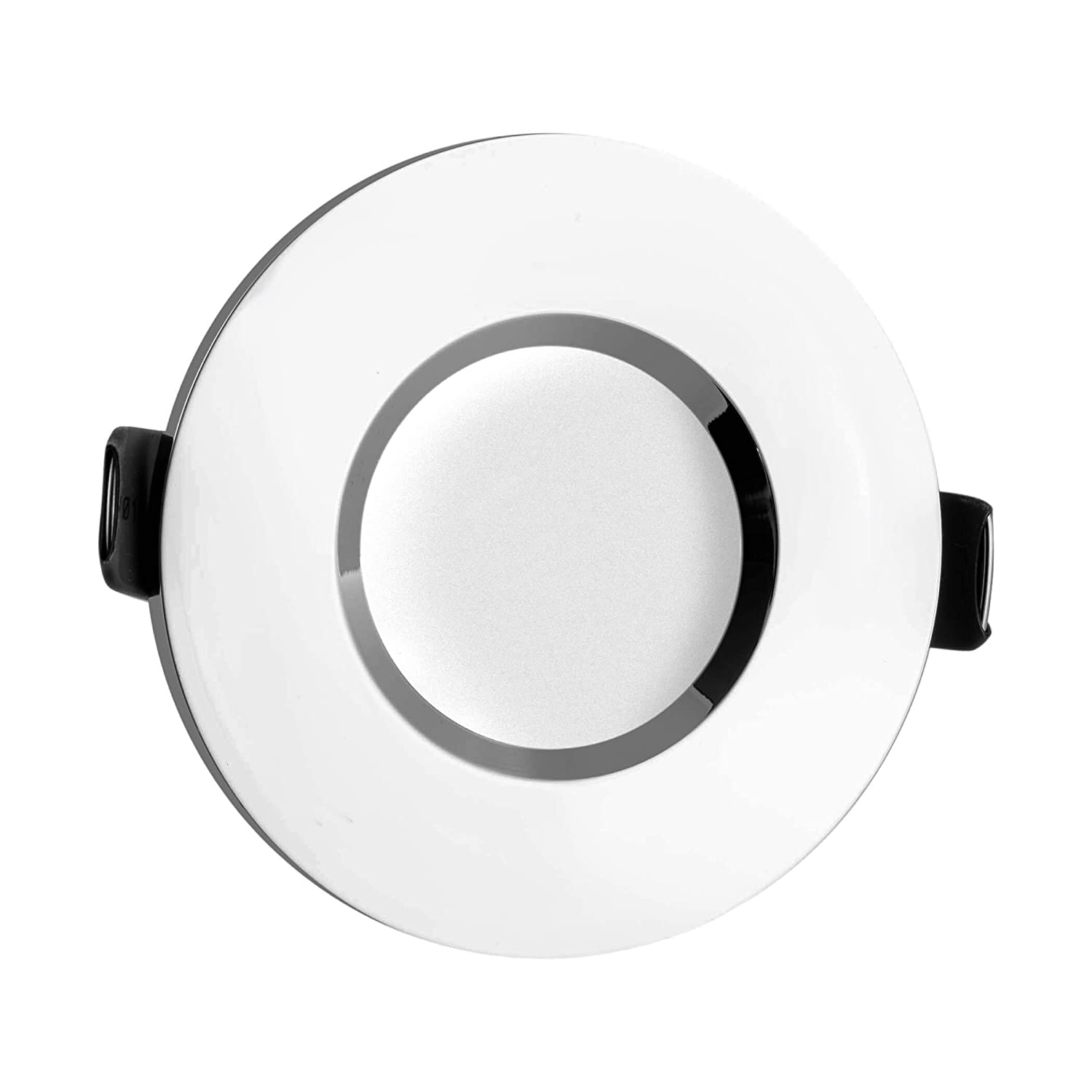 Sebson Downlight Type 10 Bathroom Ip44 Aluminium Silver Chrome Brushed Satin Light Pull Cord Switch Amazoncouk Lighting Led Halogen Incl Gu10 Socket Mouting Frame 84 X 27mm Recessed