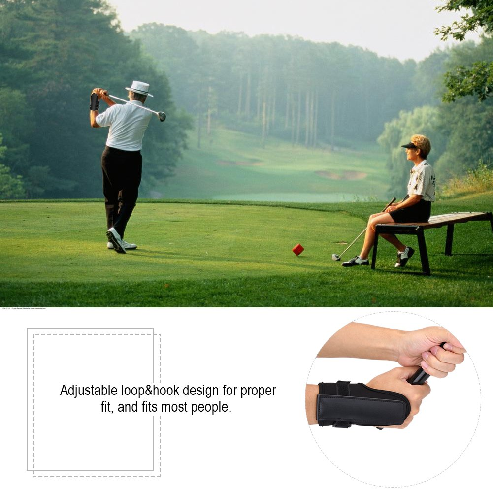 Golf Swing Training Aid Tactic, Golf Wrist Brace Band, Glove Golf Swing Train Aid Set Straight Practice Wrist Brace Trainer Corrector Golfer Accessory by Vbestlife (Image #5)