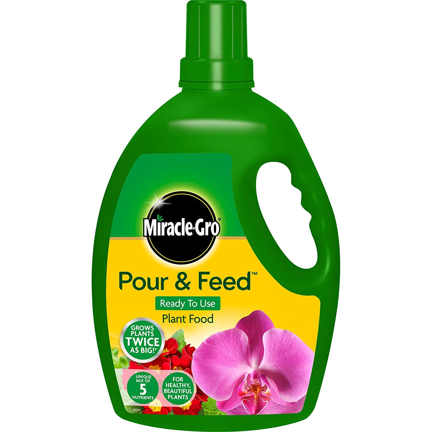 3XPour & Feed 3 litres Liquid Plant Food Scotts Miracle-Gro