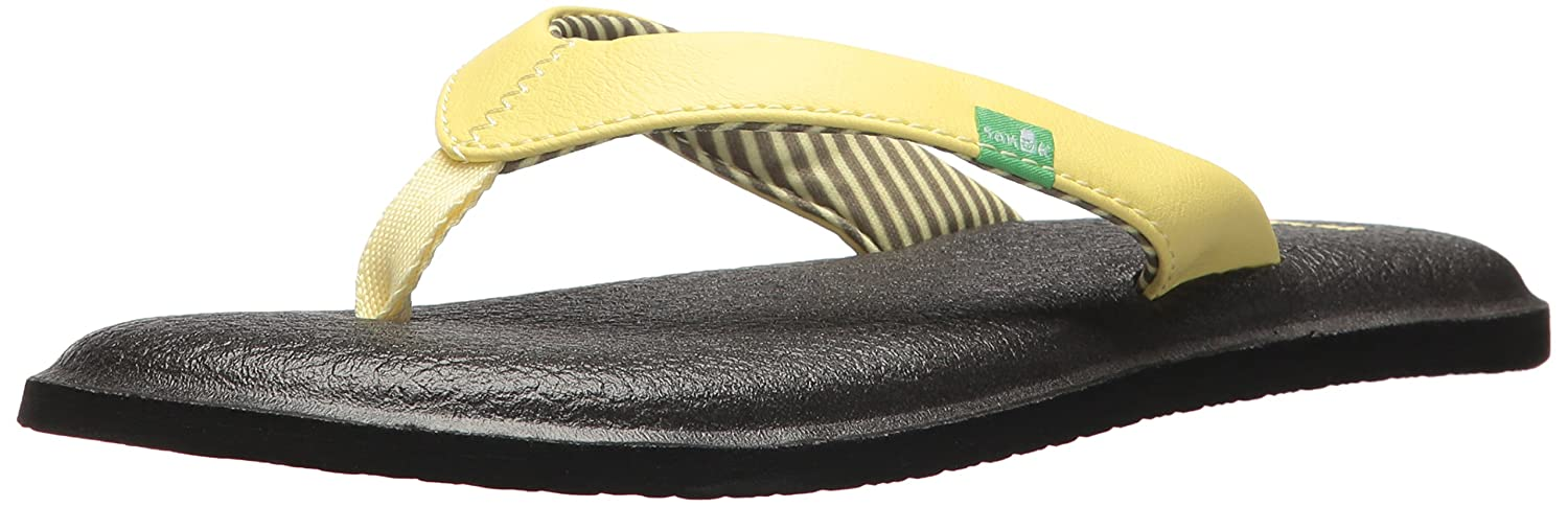 a11d18f5e9b5 Sanuk Women s Yoga Chakra Flip-Flop  Amazon.co.uk  Shoes   Bags