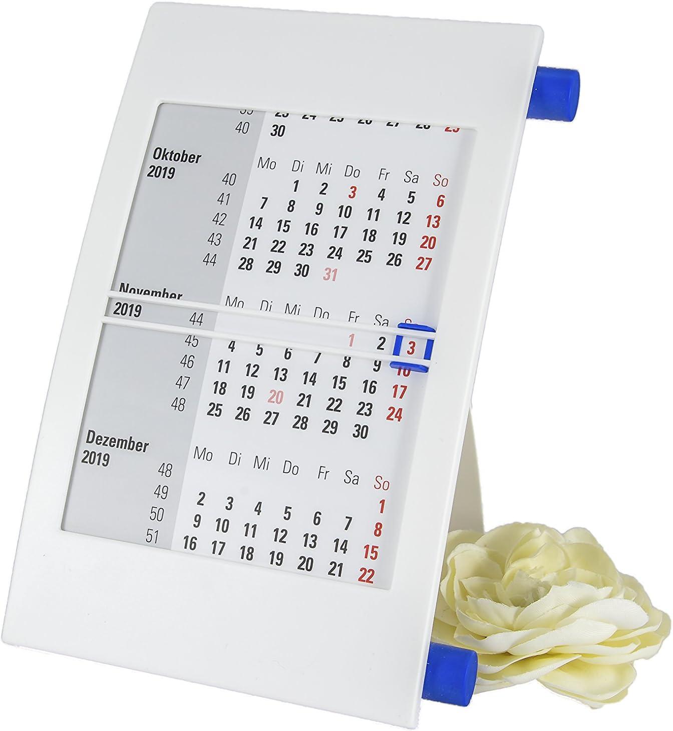 Mesa pie Calendario atril giratorio Calendario 2019 + 2020: Amazon ...