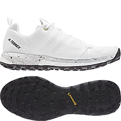 wholesale dealer cac50 9d09f Amazon.com   adidas outdoor Men s Terrex Agravic Non-Dyed White Black 10.5  D US   Trail Running