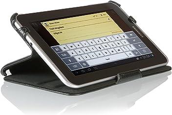 Custodia Ultra Sottile per Samsung Galaxy Tab 2 7.0 (P3100) con funzione di supporto e presentazione - Stilgut - nero -
