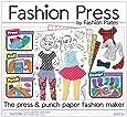 Fashion Press Paper Fashion Maker Deluxe Activity Kit