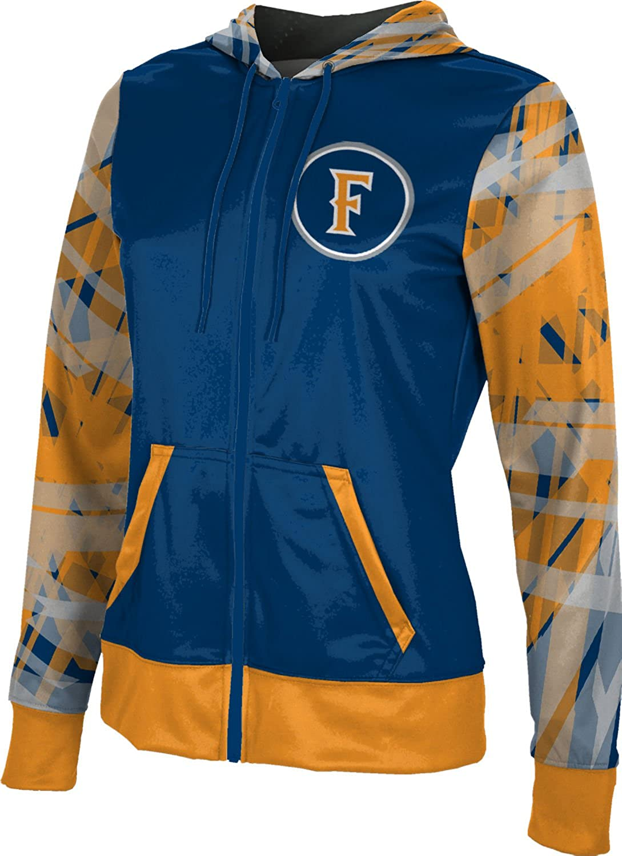 Crisscross School Spirit Sweatshirt ProSphere California State University Fullerton Girls Zipper Hoodie