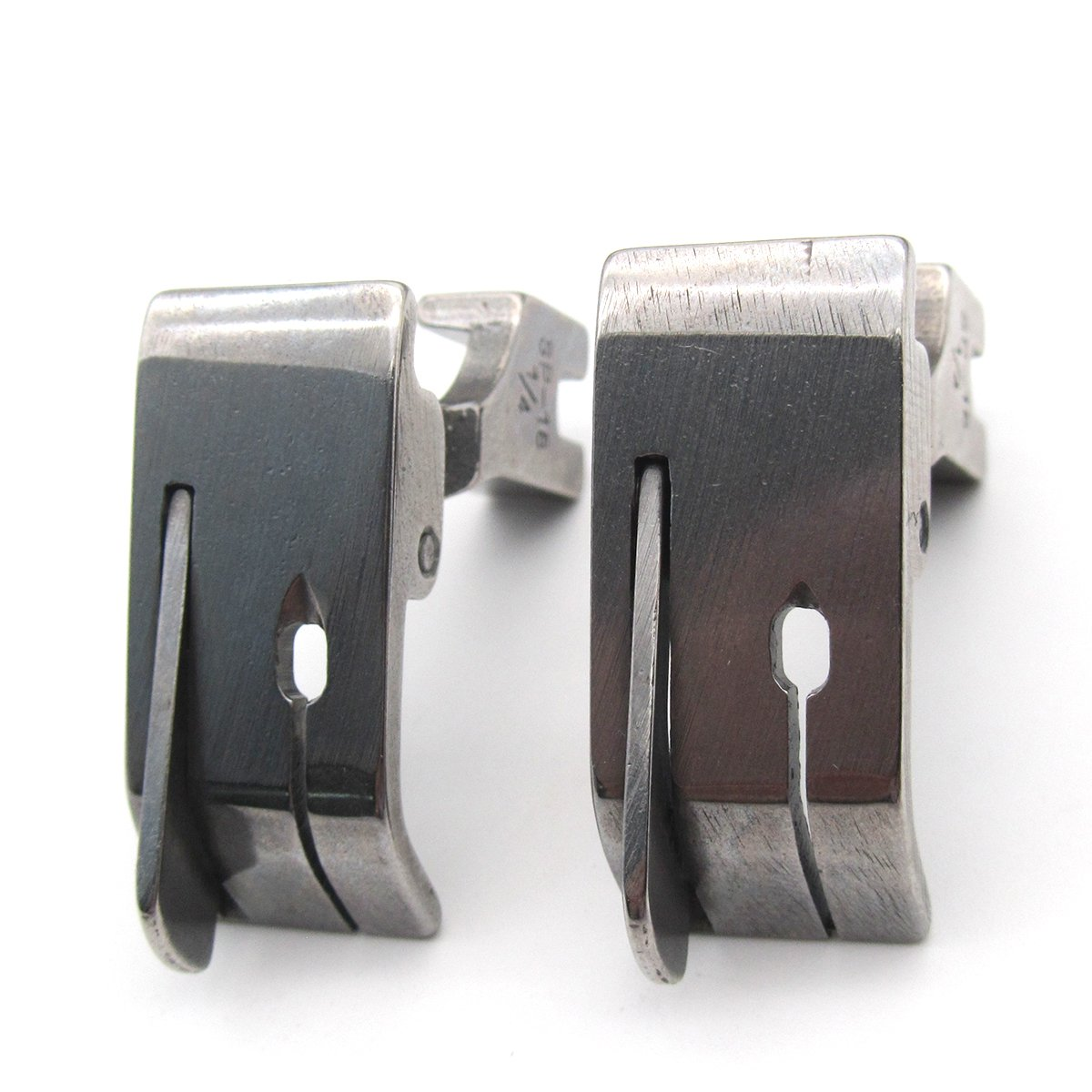 Industrial Sewing Machine Hinged Presser Foot with Right Guide #SP-18 1//8 2 PCS