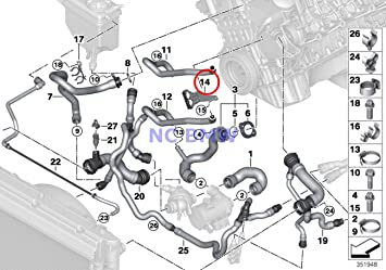 2006 Bmw 325i Coolant Hose Diagram Thxsiempre