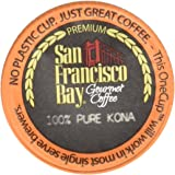 San Francisco Bay OneCup, PURE Kona, 30 Count- Single Serve Coffee, Compatible with Keurig K-cup Brewers