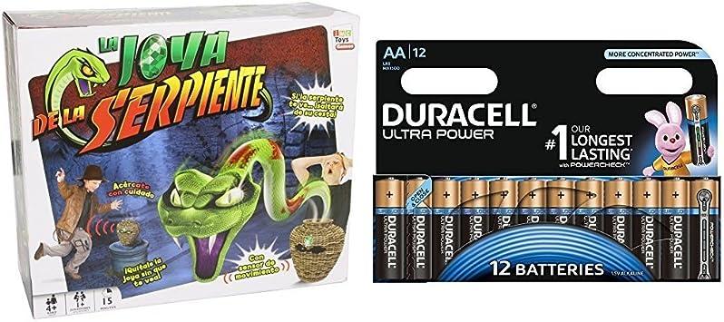 IMC Toys - La joya de la serpiente (9714) con Duracell Ultra Power ...