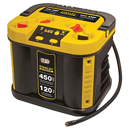 Amazon Stanley Fatmax 450 Jump Starter Amp With Compressor