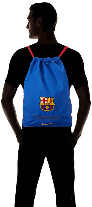Amazon.com: Nike FC Barcelona Allegiance Football Gym Sack [GAME ROYAL] (OS): Shoes