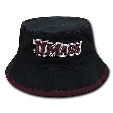 1bb8277afb71b2 University of Massachusetts Minuteman NCAA Bucket Jungle Safari Officially  Licensed Fishing Hat (S/M