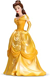 Enesco Disney Showcase Couture de Force Beauty and The Beast Belle Figurine, 8.07 Inch, Multicolor