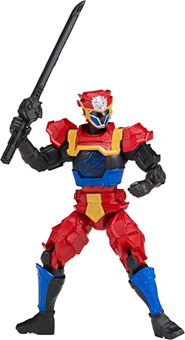 Power Rangers Super Ninja Steel Action Hero Figure, Lion Fire Armor: Blue Ranger