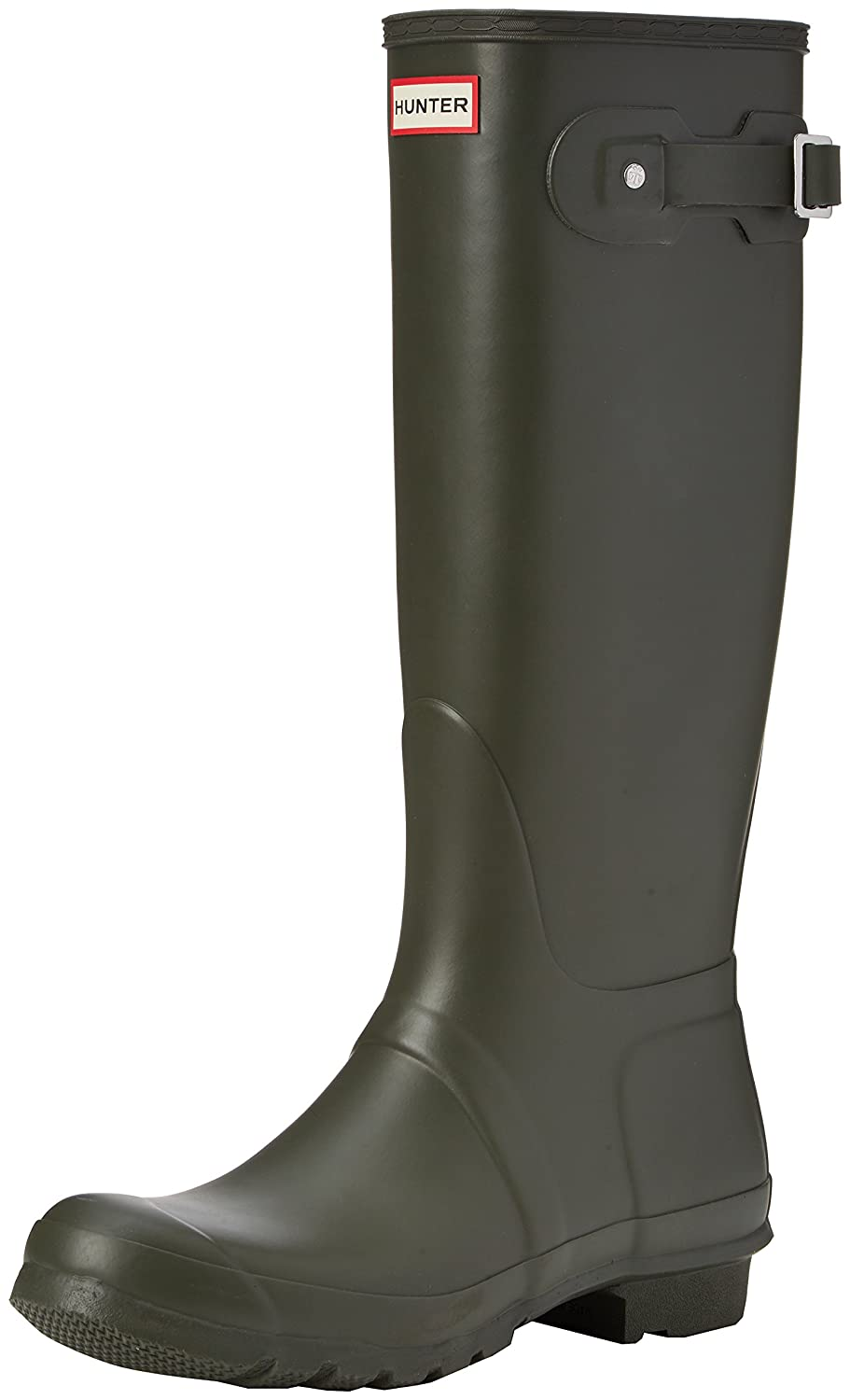 Hunter Women's Original Tall Rain Boot B00K1XAT6G 8 B(M) US|Dark Olive