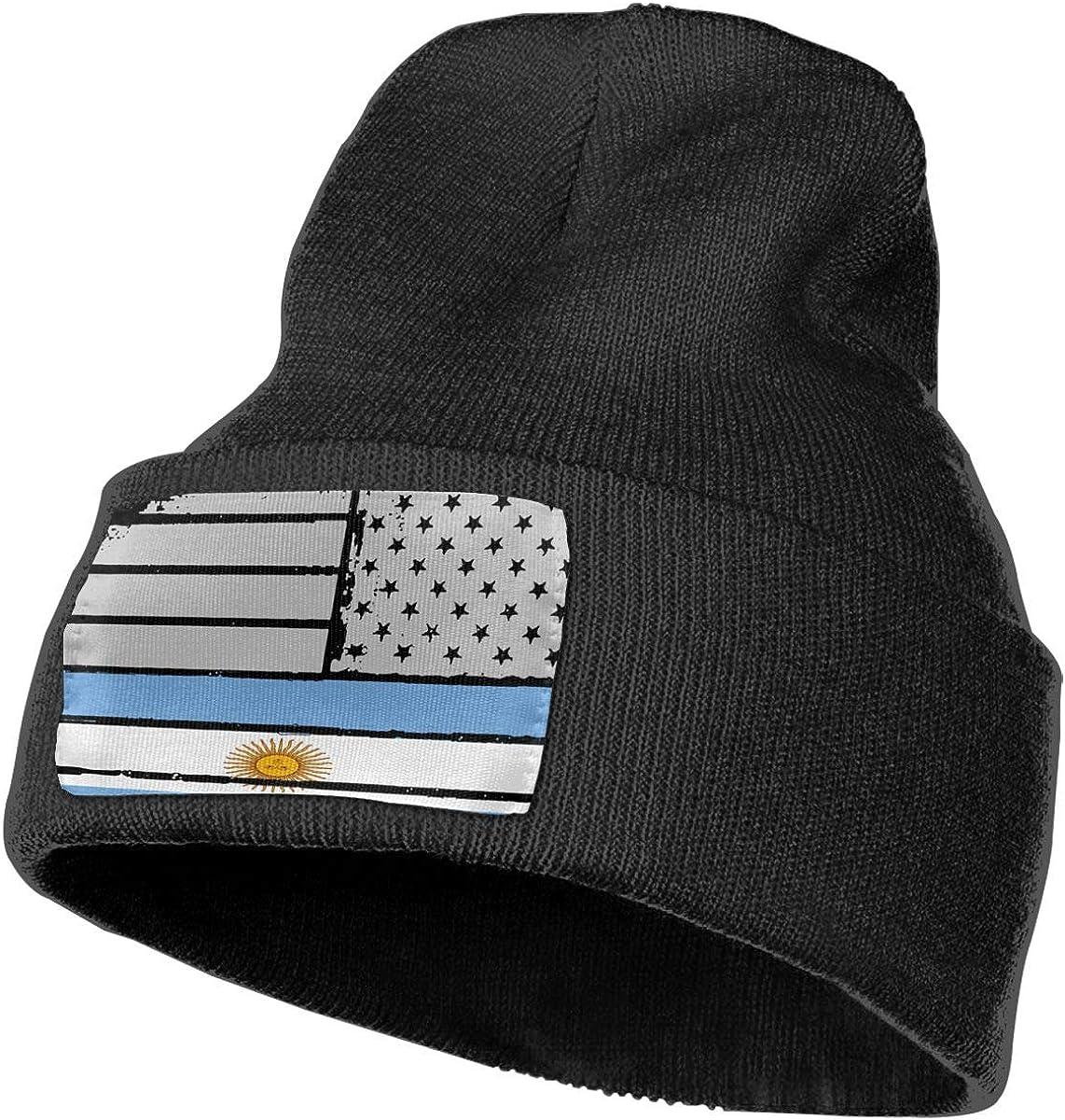 Men Women Grungy Argentina American Flag Heart Adjustable Jeans Baseball Cap Sun Hat