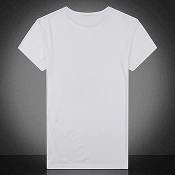 Camiseta de Manga Corta con Estampado de cráneo para Hombre ...