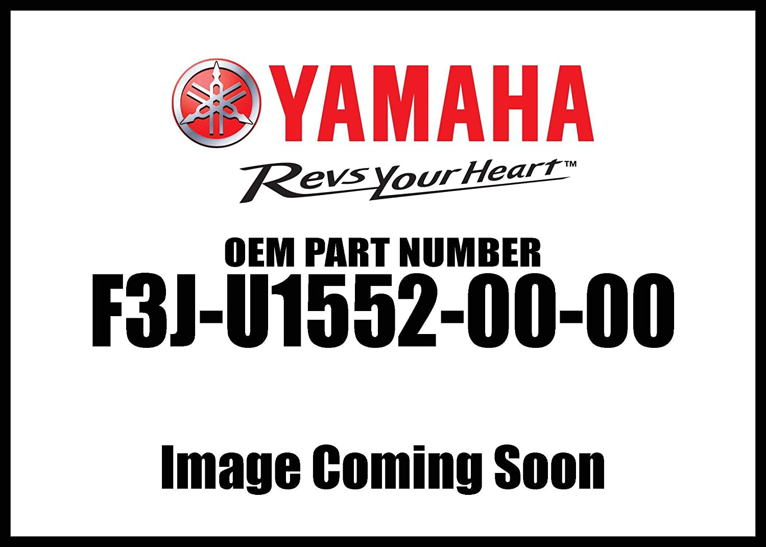 Yamaha New OEM F3J-U1552-00-00 Handle F3JU15520000