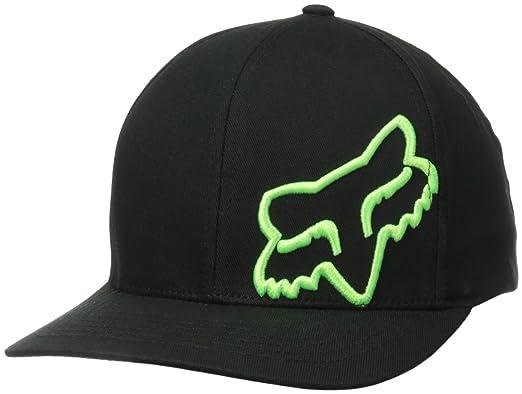 low priced ab519 4b6f8 ... order fox mens flex 45 flexfit hat black green x small small e464d 7341e