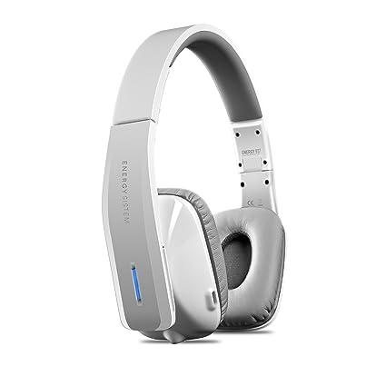 Energy Sistem BT7 NFC - Auriculares de diadema cerrados Bluetooth, Blanco