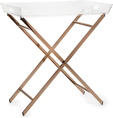 IMAX Clinton Acrylic Tray Table