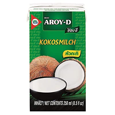 100% Coconut Milk - 8.5 Oz (12-pack) by Aroy-D: Grocery & Gourmet Food
