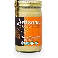 Artisana Organic Raw Cashew Butter, 16 oz