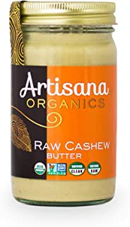 product image for Artisana Organics Non GMO Raw Cashew Butter, 14 oz | No Sugar Added | Paleo and Whole30 Compliant