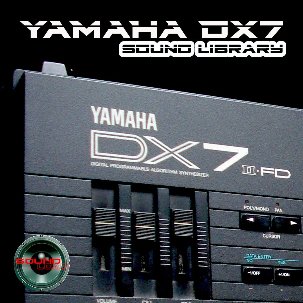 YAMAHA DX7/DX7II Large Original Factory and NEW Created Sound Library/Editors Mac/PC on CD or for download