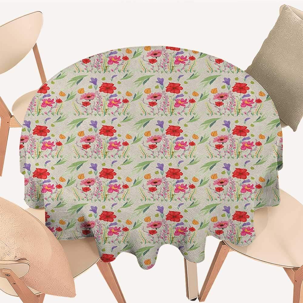 longbuyer ネイチャークリスマステーブルクロス 桜の花びら 花びら 春の公園 シンプルなイラストプリント ピンク ブラック D 70