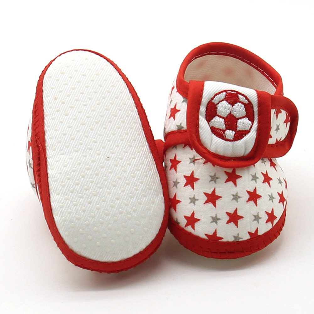 DZT1968  Newborn Infant Toddler Baby Star Girls Boys Soft Sole Prewalker Warm Casual Flats Non-Slip Toddler First WalkersShoes