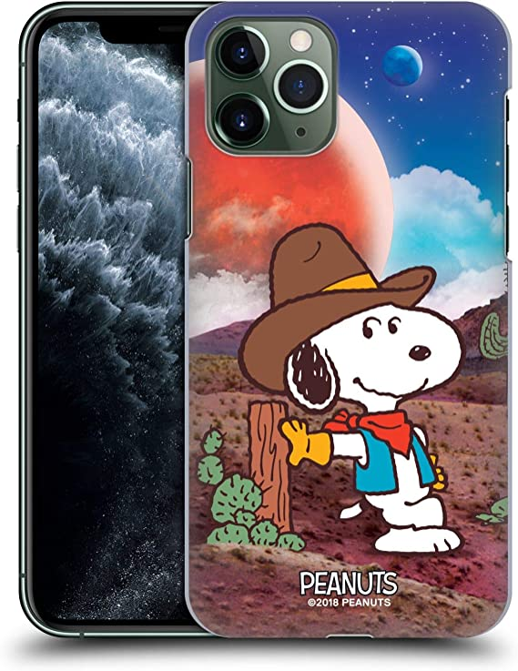 Snoopy Charlie Brown and Woodstock on the moon iphone case