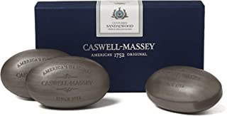 product image for Caswell-Massey Triple Milled Luxury Bath Soap Centuries Sandalwood Gift Set - Famed Fragrance - 5.8 Ounces Each, 3 Bars