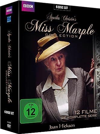 Miss Marple Die Komplette Serie 12 Filme Gesamtedition Im