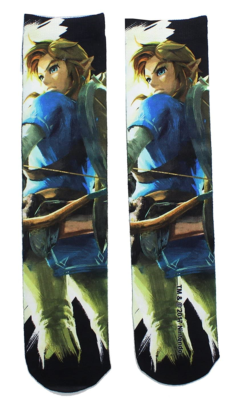Legend of Zelda Breath of the Wild Men's Socks Bioworld BIW-CO53J5ZBW-C
